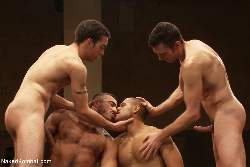 Gays wrestling