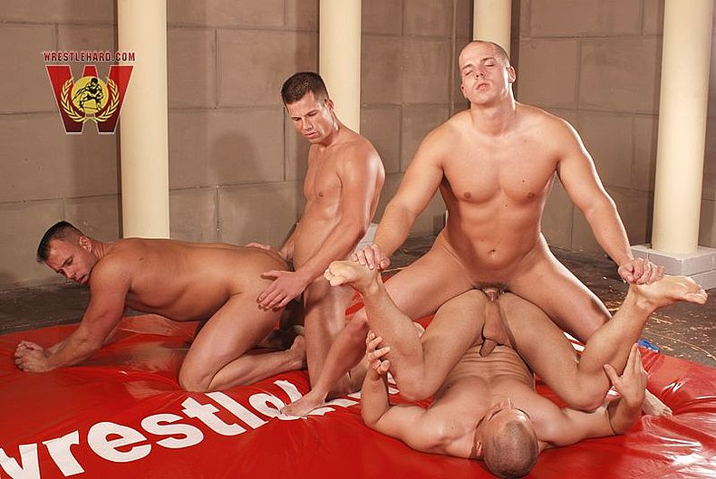 Gay Orgy Relaxation